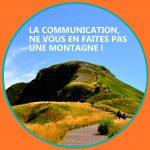 communication n'est pas une montagne