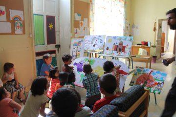 TAP Atelier enfants sur les maisons du monde avec La brèche