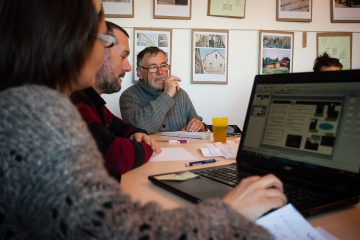 formation communication dans les associations à la Chaise Dieu animée par La brèche